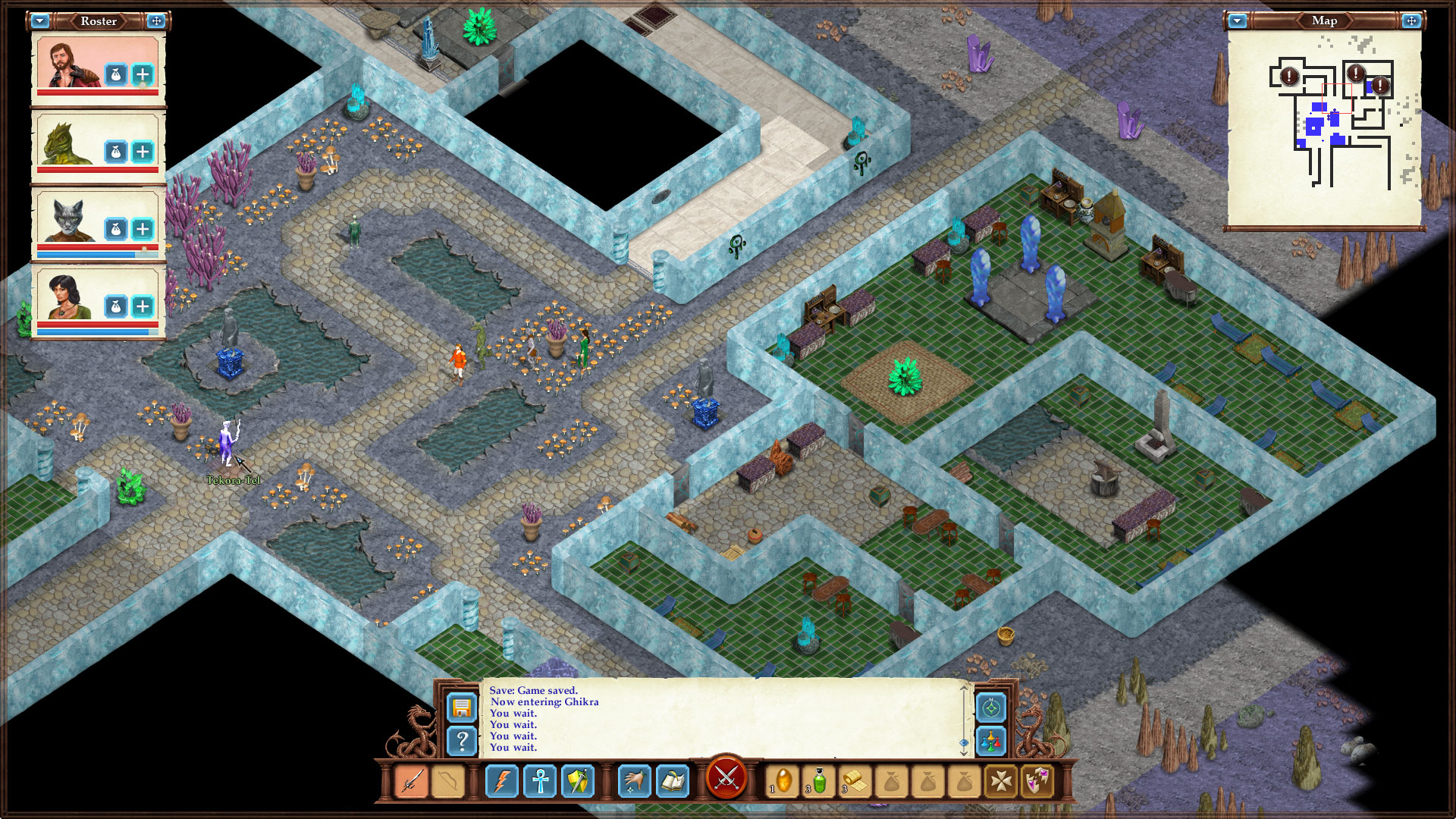 Just Released - Avernum 3: Ruined World HD, Fantasy Adventure for iPad Image