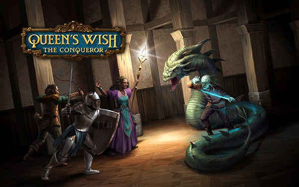 New Release - Queen's Wish: The Conqueror, Fantasy Adventure for iOS Image